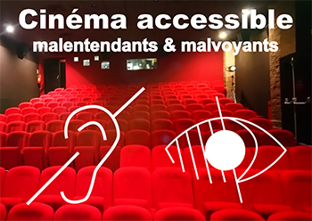 Cinema de Castelmaurou accessible aux malentendants et malvoyants